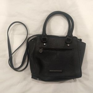 BCBGeneration black crossbody satchel bag